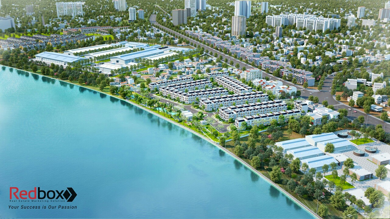 Phối cảnh tổng quan dự án Solar City