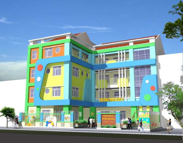 trường mầm non Solar City
